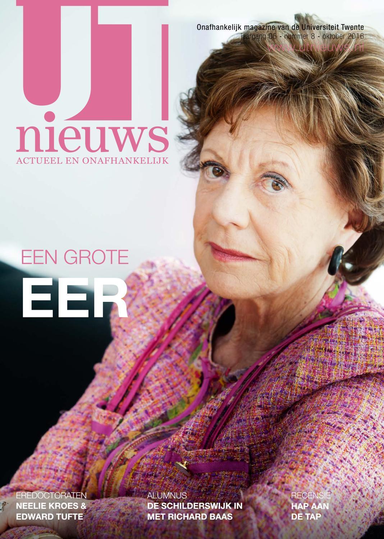 UT Nieuws Magazine November 2016 by Redactie UT Nieuws - issuu