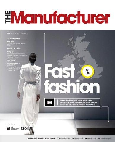 The Manufacturer October 2016