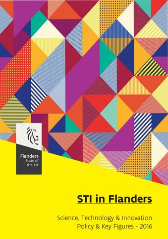 STI in Flanders : Science, Technology & Innovation. Policy & Key Figures - 2016