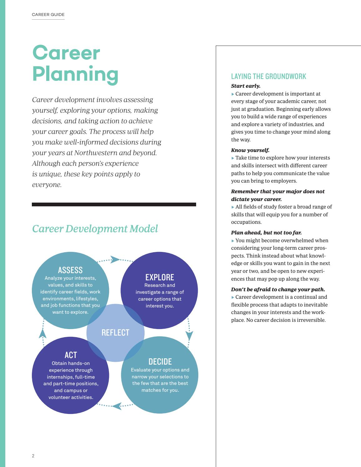 nca career guide 2016 18 by northwestern career advancement page nca career guide 2016 18 by northwestern career advancement page 4 issuu