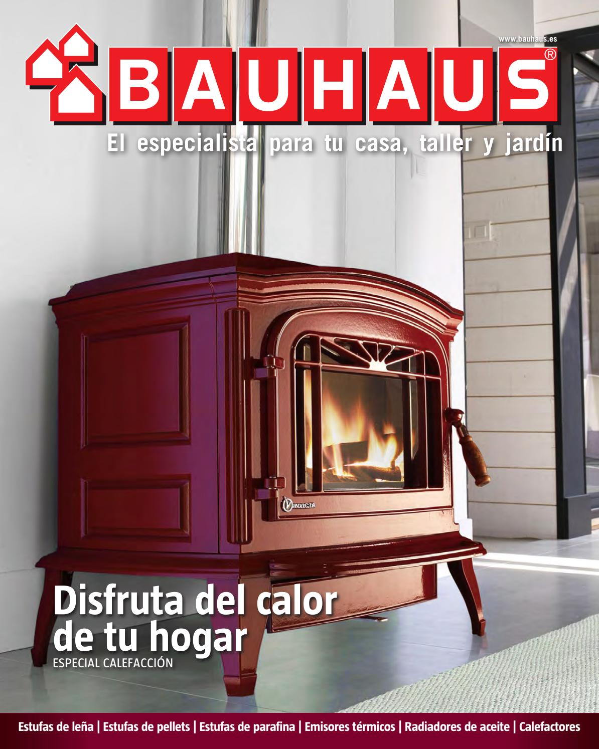 especial calefacci n by bauhaus issuu. Black Bedroom Furniture Sets. Home Design Ideas