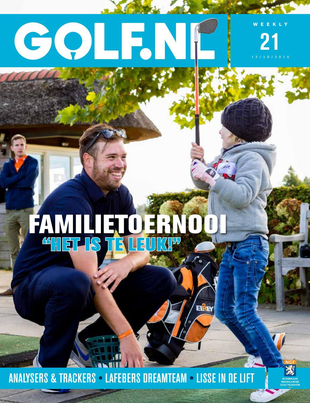 GOLF.NL Weekly 21 2016 by Koninklijke Nederlandse Golf Federatie ...