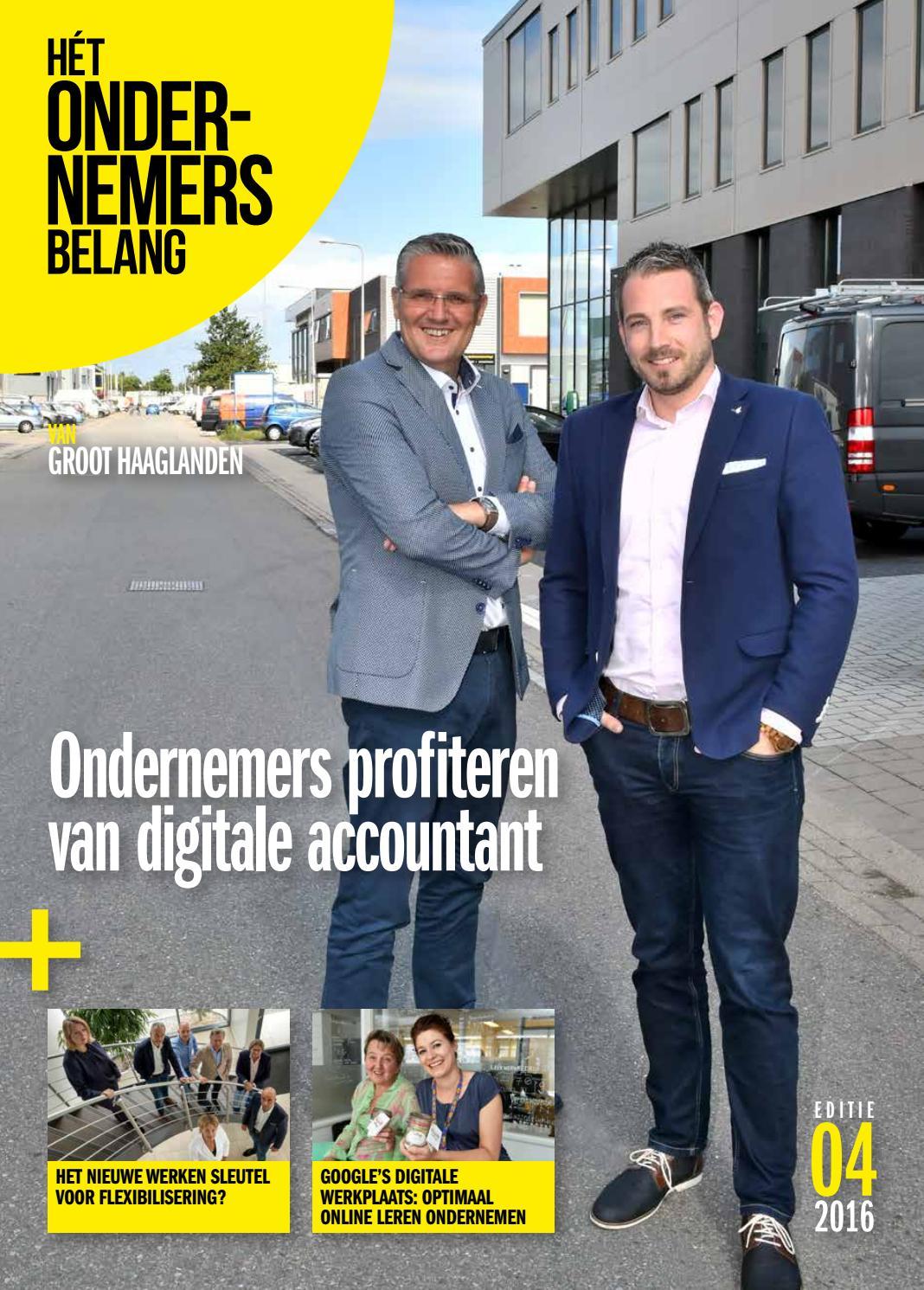 Het ondernemersbelang groot haaglanden 4 2016 by uitgeverij novema ...