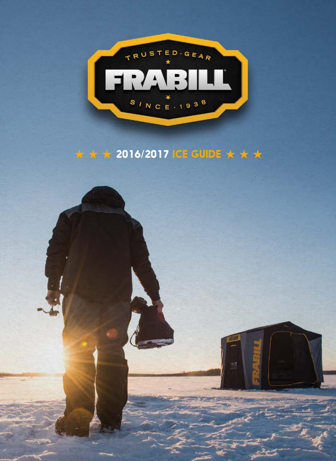 2016 2017 Frabill Ice Guide By Planosynergy Issuu