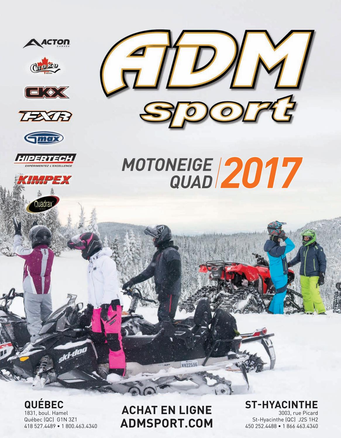 Catalogue adm sport motoneige 2017 by adm sport issuu for Domon achat en ligne