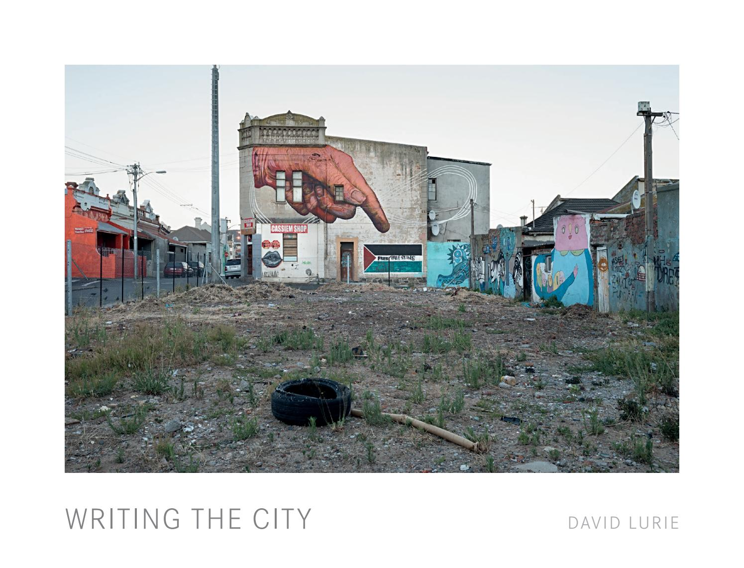 writing the city by david lurie by sulger buel lovell