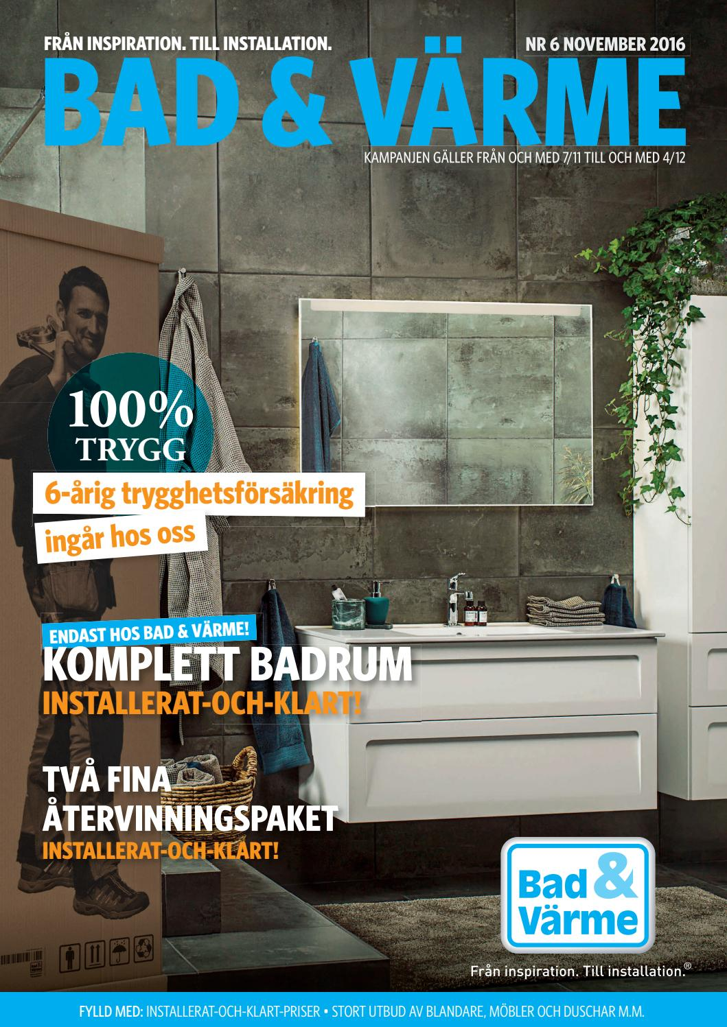 Bad&värme dr 6 2016 by kw reklam   issuu