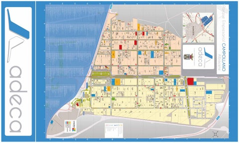 Plano del Polígono Campollano Cara B 2016