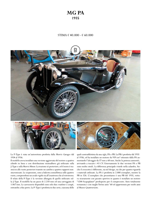 Asta 0119 by thetis srl page 91 issuu for Stima del costo di due auto garage