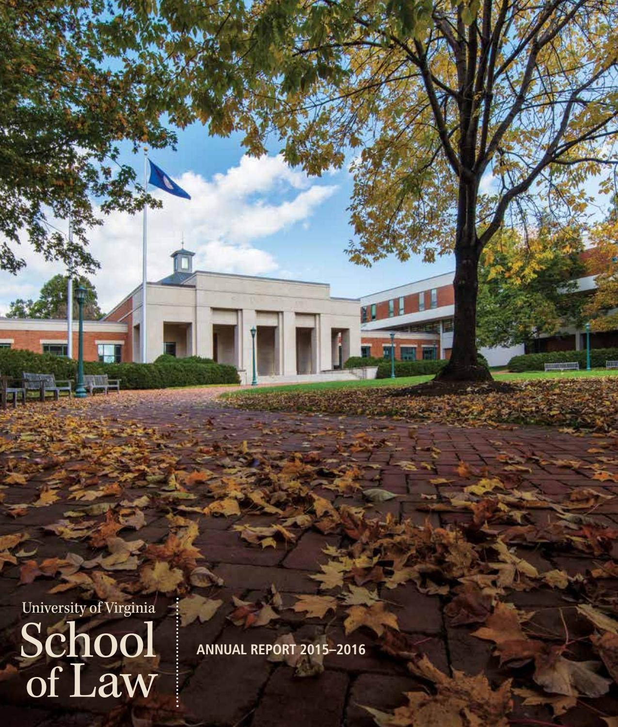 Uva law annual report 2015 16 by university of virginia for Dettmer homes