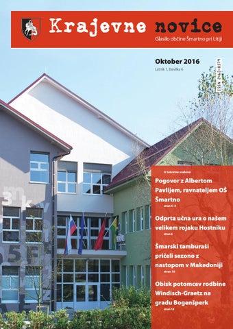 Krajevne novice – oktober 2016 (letnik 1, številka 6)