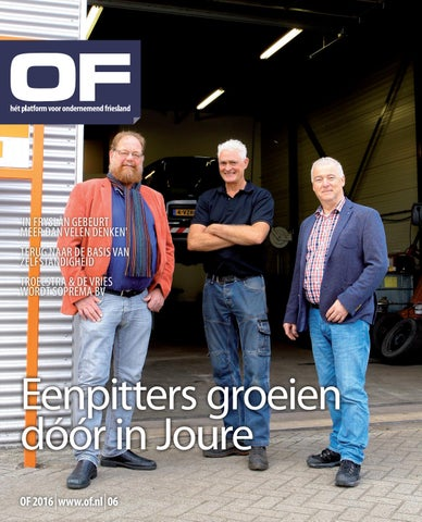 Ondernemend Friesland editie 6 oktober 2016