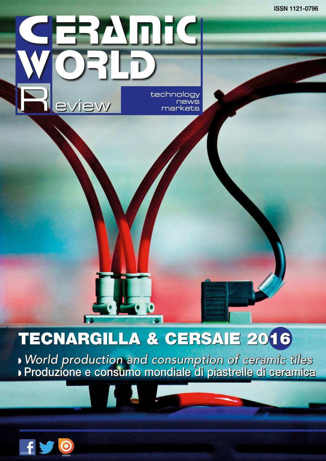 Ceramic world review 118 2016 by tile edizioni issuu - Riparazione piastrelle crepate ...
