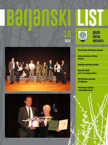 Barjanski list oktober 2016