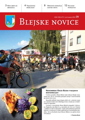 Blejske novice september 2016