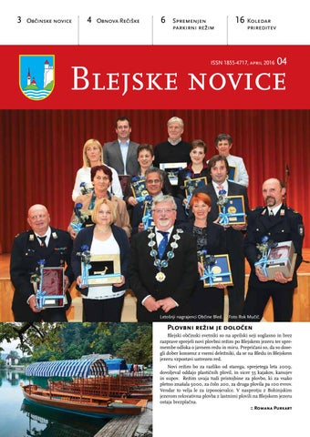 Blejske novice april 2016