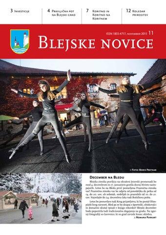 Blejske novice november 2015