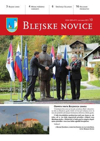Blejske novice oktober 2015