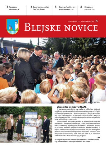 Blejske novice september 2015