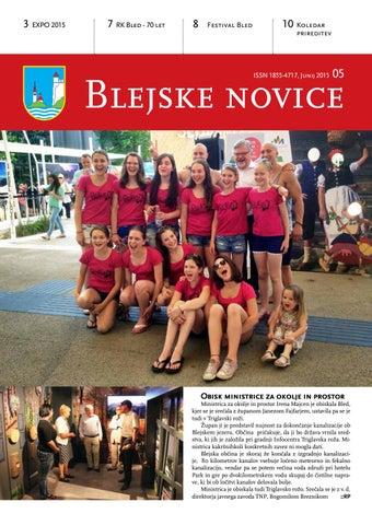 Blejske novice junij 2015