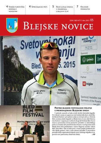 Blejske novice maj 2015