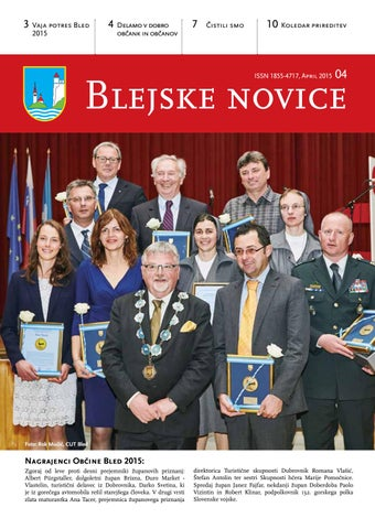 Blejske novice april 2015