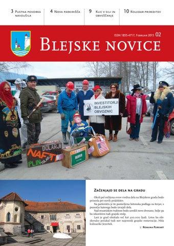 Blejske novice februar 2015