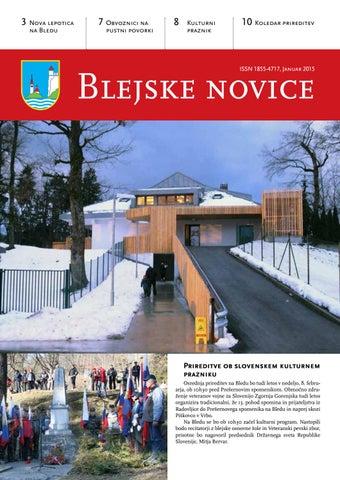 Blejske novice januar 2015