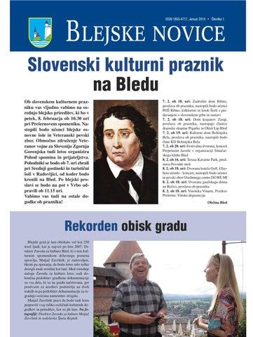 Blejske novice januar 2013