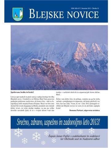 Blejske novice december 2012