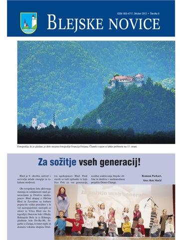 Blejske novice oktober 2012