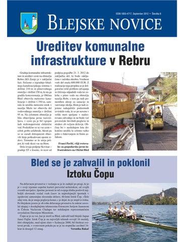 Blejske novice september 2012