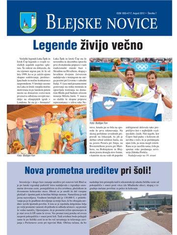 Blejske novice avgust 2012