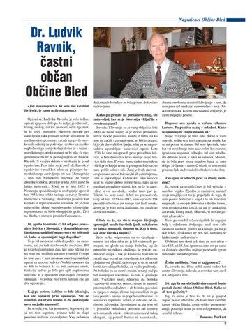 Blejske novice marec 2012