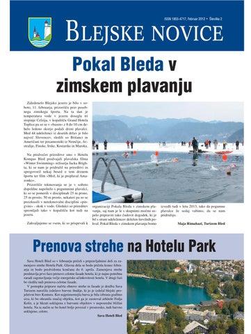 Blejske novice februar 2012