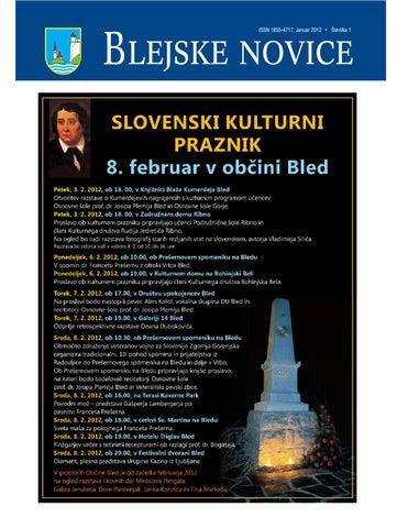 Blejske novice januar 2012