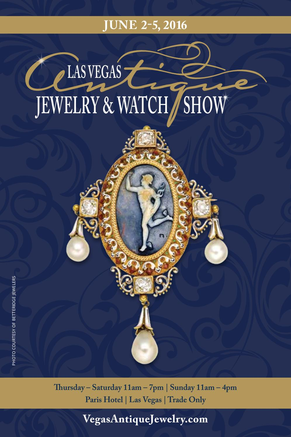 the las vegas antique jewelry watch show 2016 directory