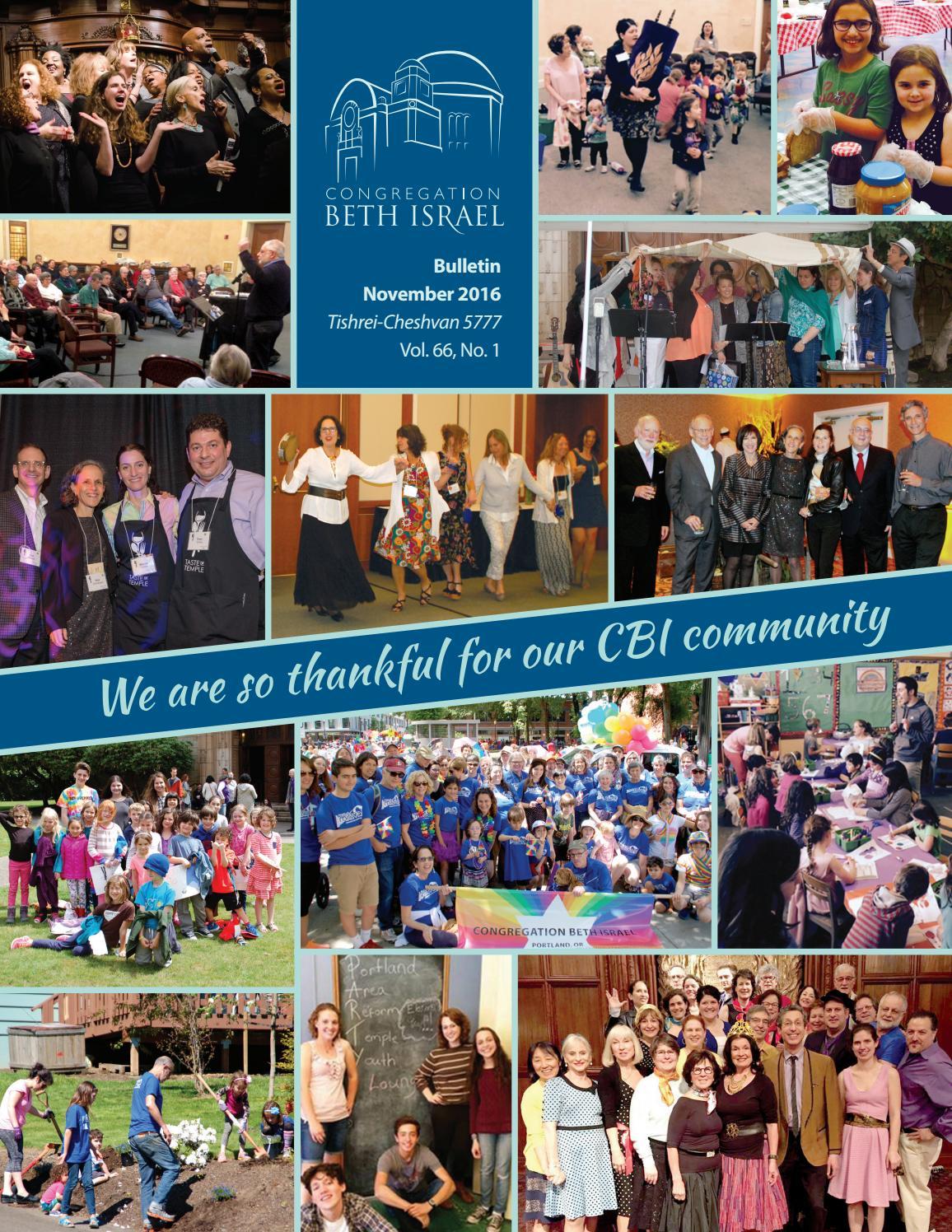 bulletin congregation beth portland oregon 2016 bulletin congregation beth portland oregon by congregation beth issuu