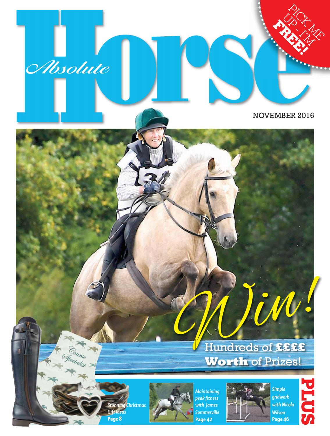 Absolute Horse November 2016 By Absolute Horse Magazine