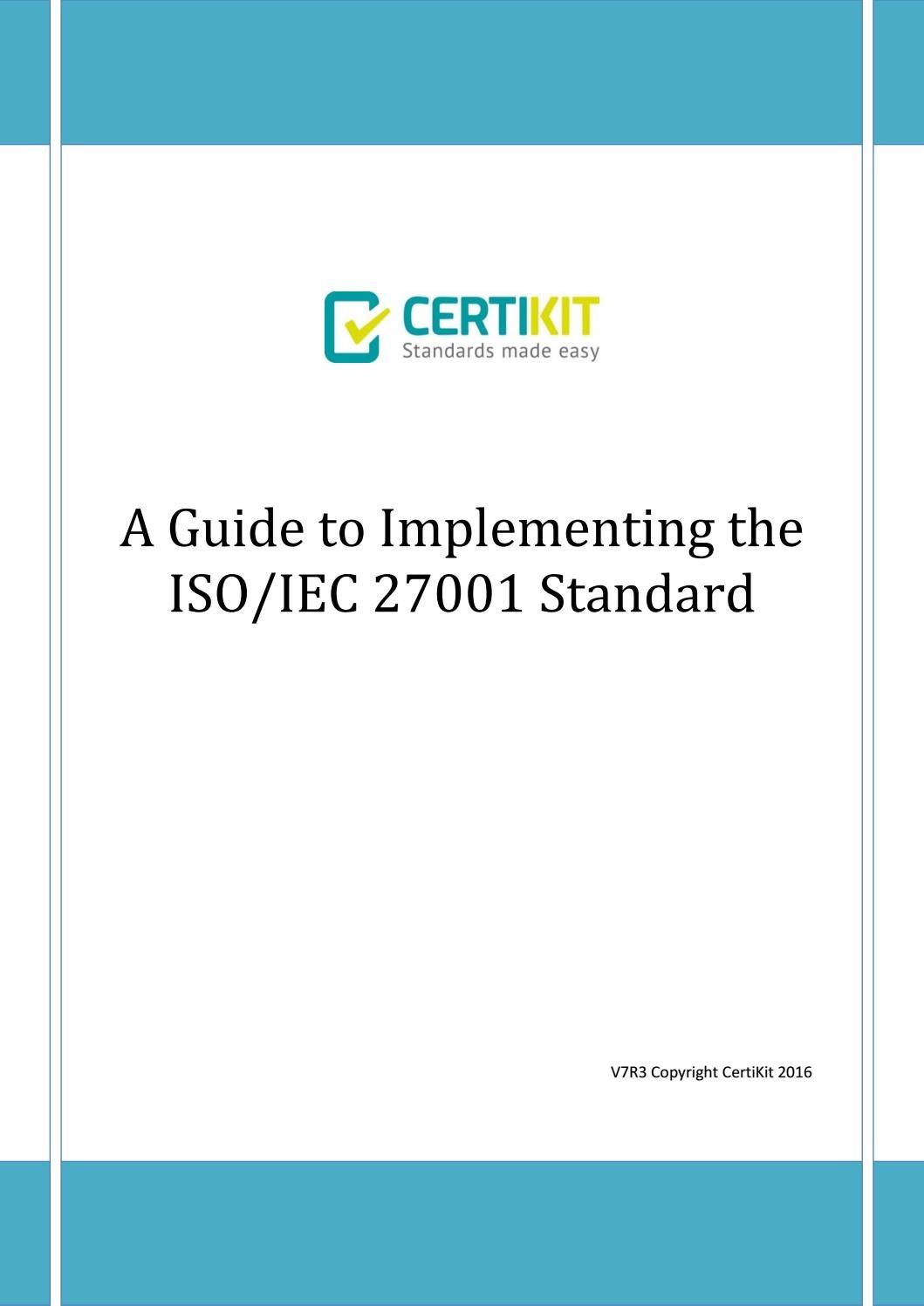 iso 27001 standard summary Iso 27001:2013 foundations course in this online course you'll learn everything you need to know about iso 27001, including all the requirements and best practices for compliance the course is made for beginners in information security and iso standards, and no prior knowledge is needed to take this course.