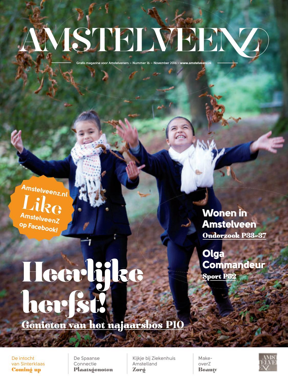 Amstelveenz magazine november 2016 editie16 by amstelveenz.nl   issuu
