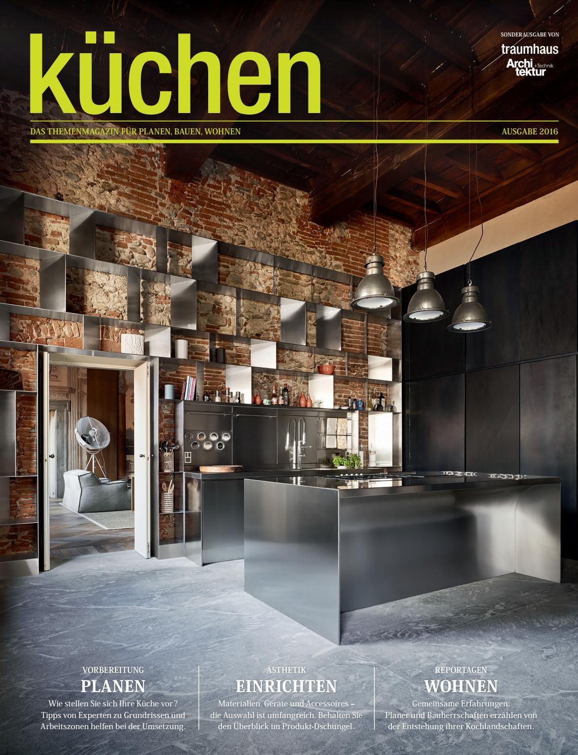 Das ideale heim spezial – küchen 2016/17 by archithema verlag   issuu