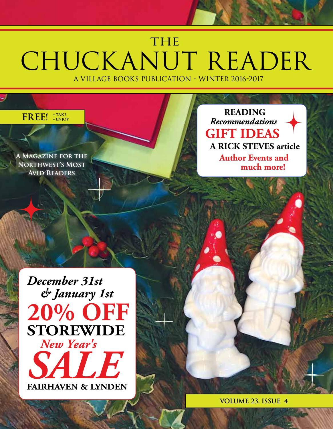 Chuckanut reader   fall 2016 by chuck robinson   issuu