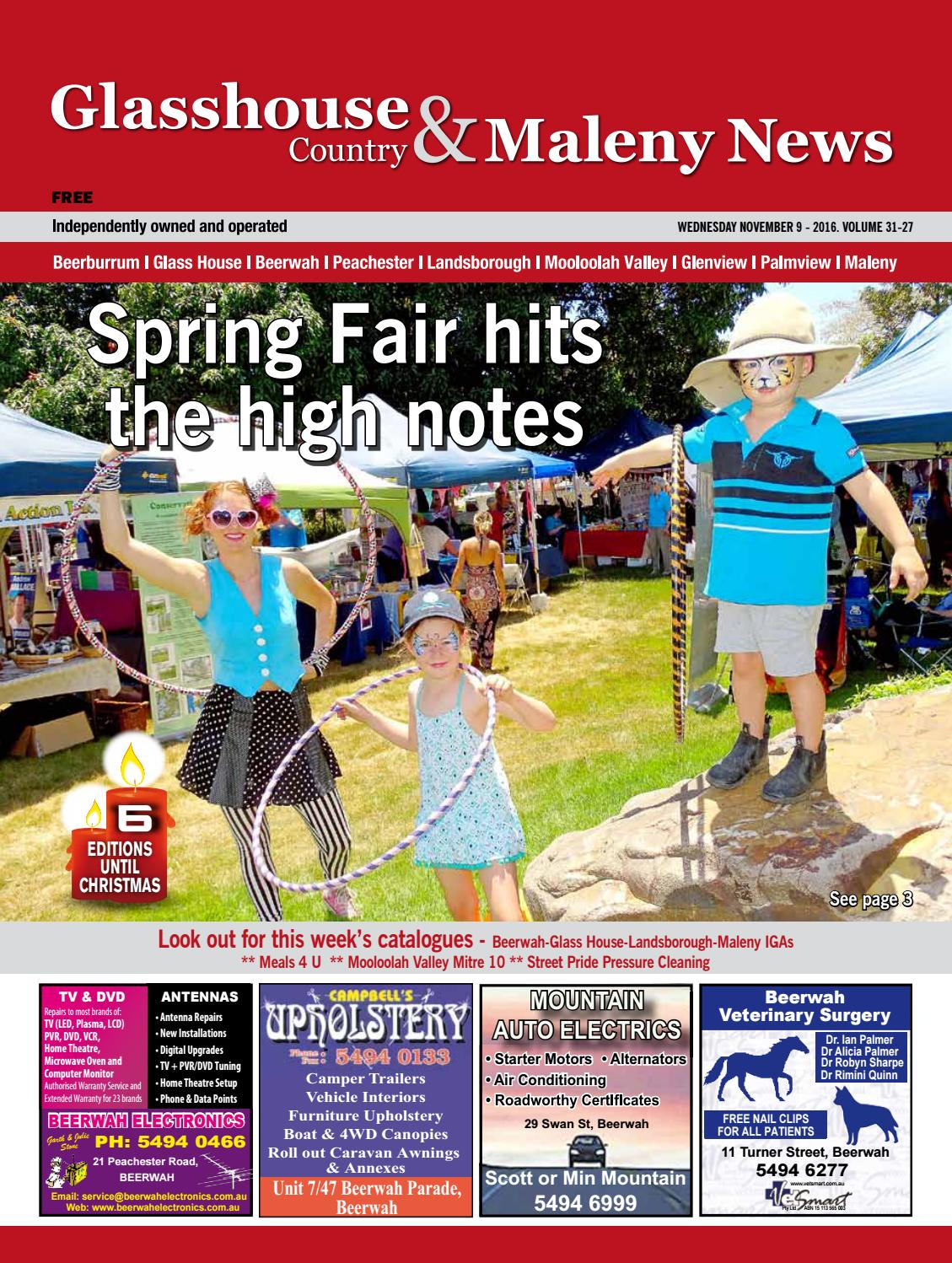 Edition 9 November 2016 By Glasshouse Country News Issuu