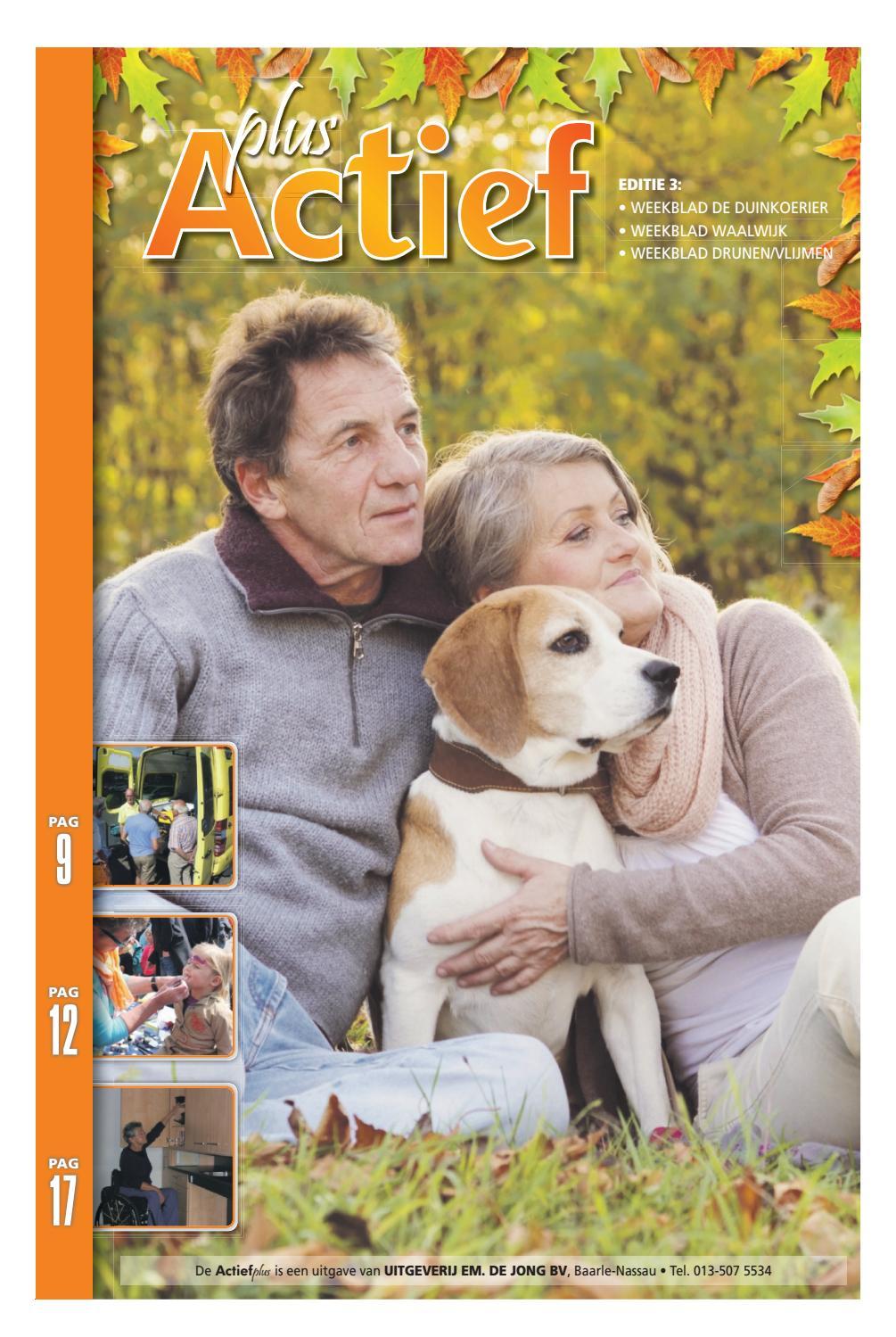 Actief Plus Ed. 3 09-11-2016 by Uitgeverij Em de Jong - issuu