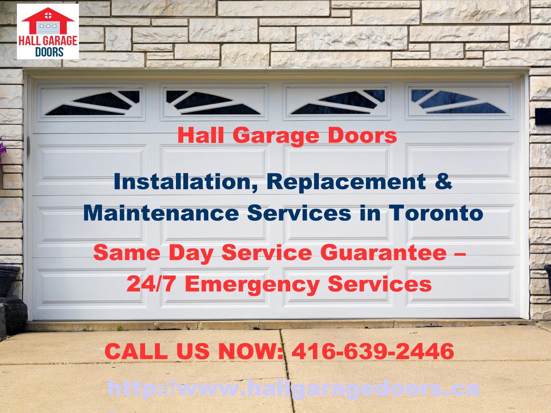 Garage door repair toronto new installation for A 1 garage door service