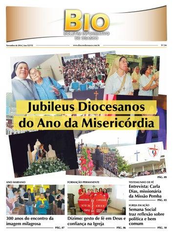 [BIO Diocesano – Novembro 2016]
