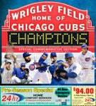 Cubs World Series commemorative section