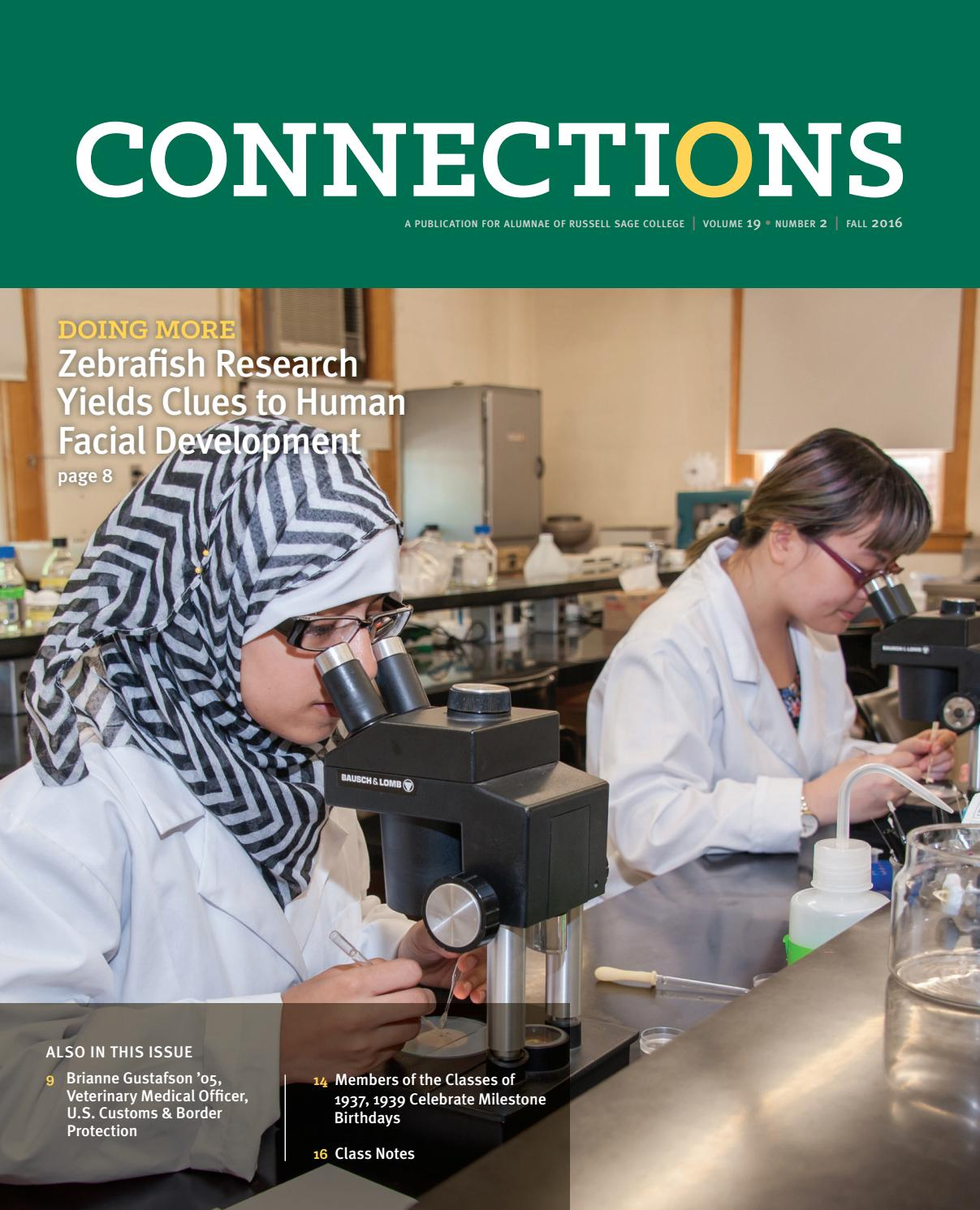 connections spring 2016 by the sage colleges issuu