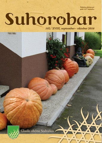 Suhorobar 102/XVIII, september - oktober 2016